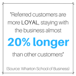 Local By Referral System Word of mouth marketing statistics
